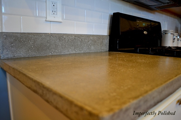 DIY Concrete Counters: Pouring and Curing