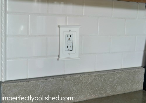 DIY Subway Tile Backsplash | Imperfectly Polished