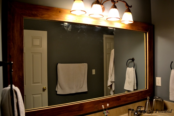 Barnwood Framed Bathroom Mirrors wood mirror frame…part 2