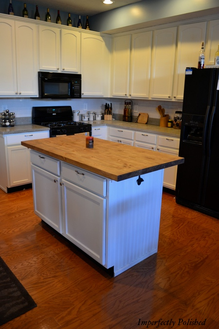 Counter Island the kitchen island saga