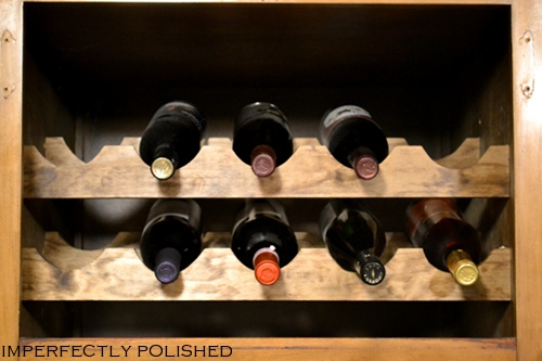 Build A Cabinet Wine Rack