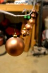 hanging ornaments to spray paint