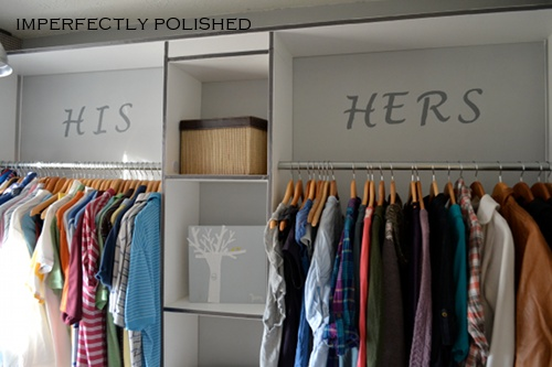 Build Wooden Closet System