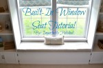 window seat tutorial