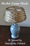 basket lamp shade tutorial