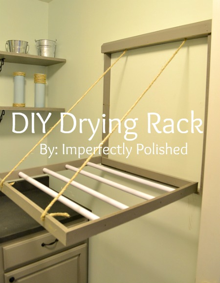 Clothes Drying Rack Plans