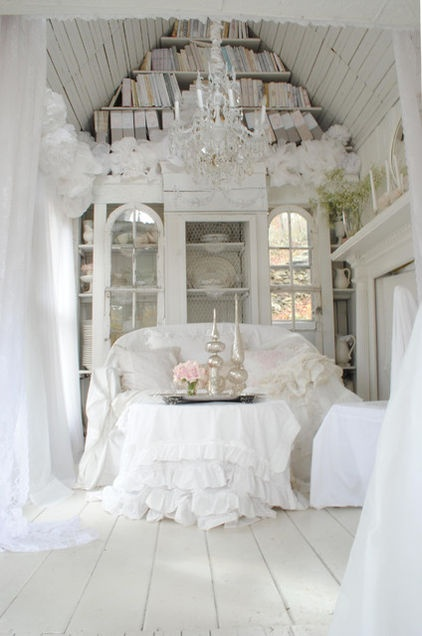 frilly room