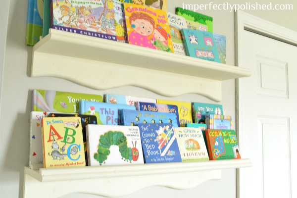 nursery book shelves