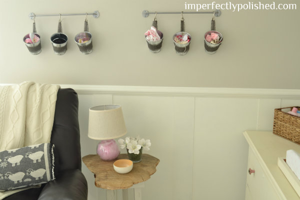 nursery bucket wall
