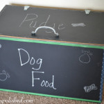 dog food bowl box