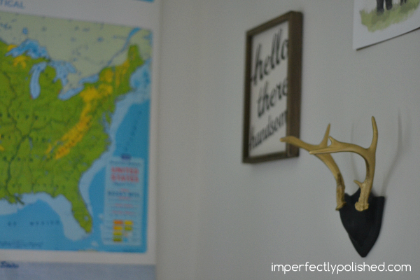 baby's room antlers